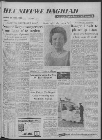 Nieuwe Schiedamsche Courant 1962-04-27