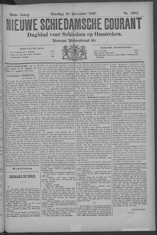 Nieuwe Schiedamsche Courant 1897-12-28