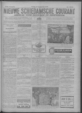 Nieuwe Schiedamsche Courant 1929-09-27