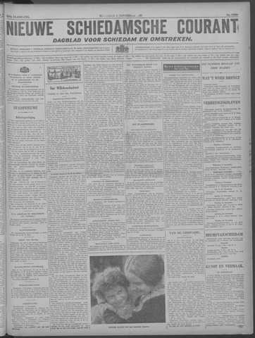 Nieuwe Schiedamsche Courant 1929-11-04