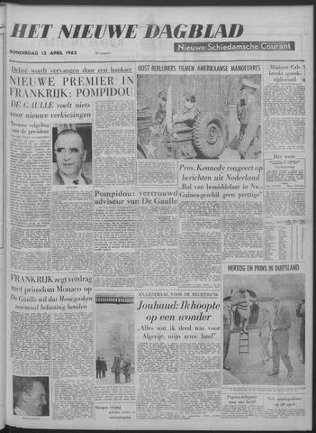 Nieuwe Schiedamsche Courant 1962-04-12