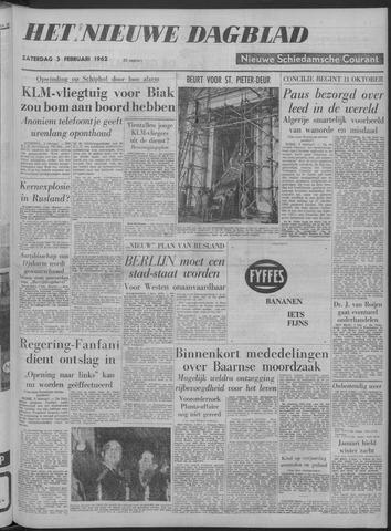 Nieuwe Schiedamsche Courant 1962-02-03