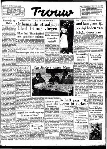 Trouw / De Rotterdammer 1957-10-04