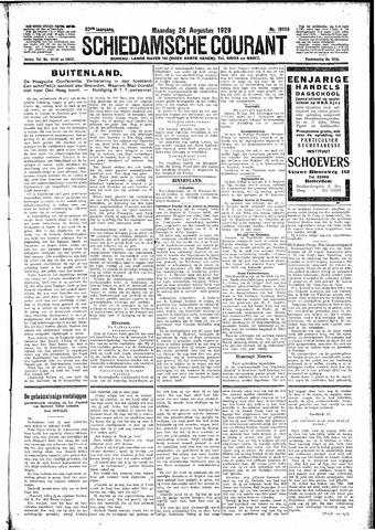 Schiedamsche Courant 1929-08-26