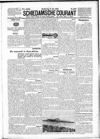 Schiedamsche Courant 1935-07-11