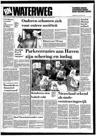 Rotterdamsch Nieuwsblad / Schiedamsche Courant / Rotterdams Dagblad / Waterweg / Algemeen Dagblad 1987-08-13