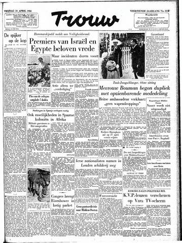Trouw / De Rotterdammer 1956-04-13