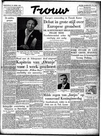 Trouw / De Rotterdammer 1953-04-29