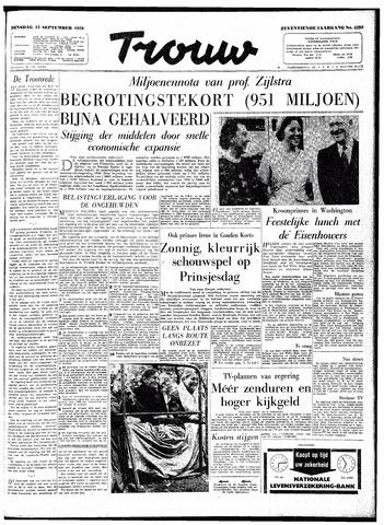 Trouw / De Rotterdammer 1959-09-15