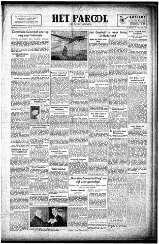 Rotterdamsch Parool / De Schiedammer 1947-01-06