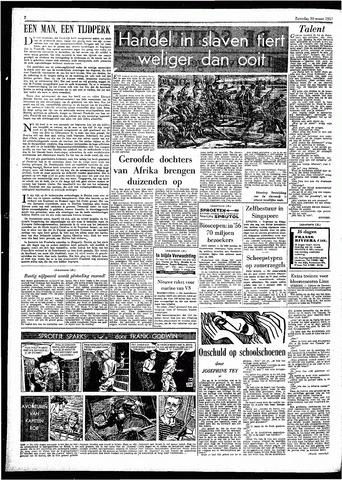 Rotterdamsch Parool / De Schiedammer 1957-03-30