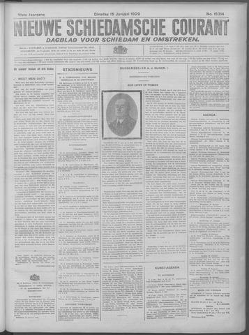 Nieuwe Schiedamsche Courant 1929-01-15