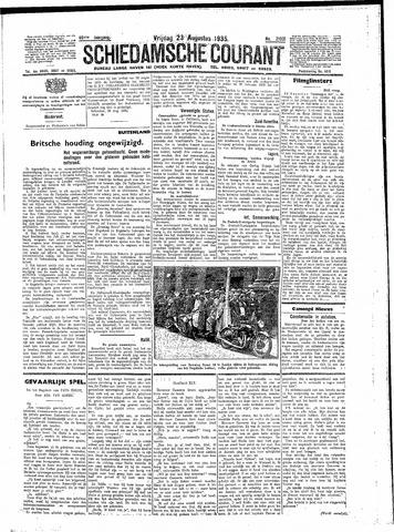 Schiedamsche Courant 1935-08-23