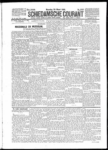 Schiedamsche Courant 1933-03-20