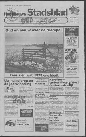 Het Nieuwe Stadsblad 1978-12-29