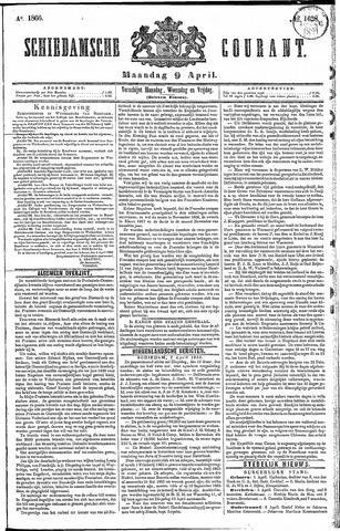 Schiedamsche Courant 1866-04-09