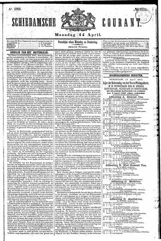 Schiedamsche Courant 1862-04-14