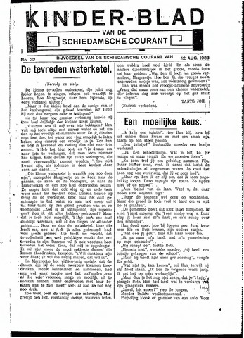 Schiedamsche Courant 1933-08-12