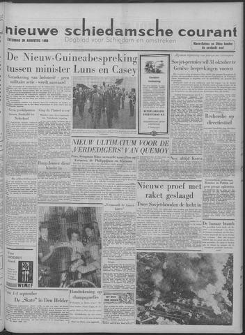 Nieuwe Schiedamsche Courant 1958-08-30