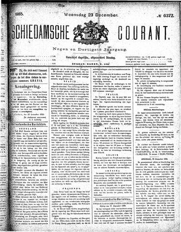 Schiedamsche Courant 1885-12-23