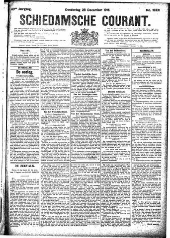 Schiedamsche Courant 1916-12-28