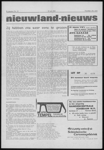 Nieuwland Nieuws 1964-07-23