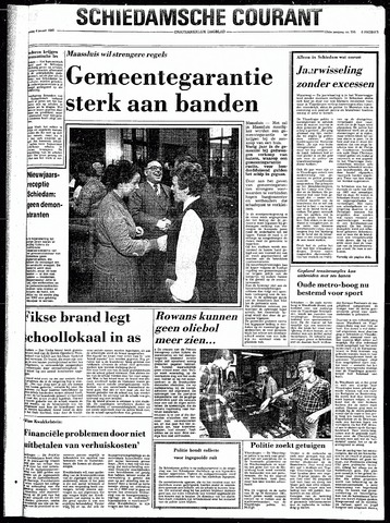 Rotterdamsch Nieuwsblad / Schiedamsche Courant / Rotterdams Dagblad / Waterweg / Algemeen Dagblad 1982