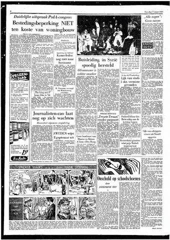 Rotterdamsch Parool / De Schiedammer 1957-03-11