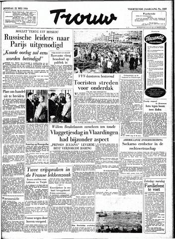 Trouw / De Rotterdammer 1956-05-22
