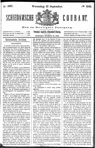 Schiedamsche Courant 1877-09-12