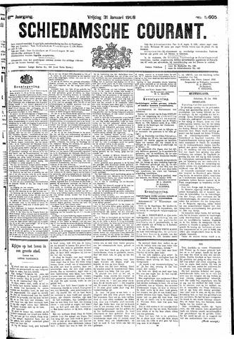 Schiedamsche Courant 1908-01-31
