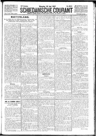 Schiedamsche Courant 1927-06-20