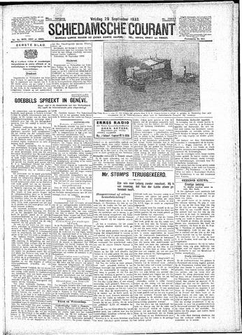 Schiedamsche Courant 1933-09-29
