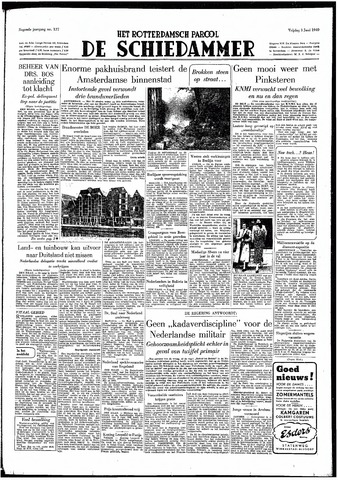 Rotterdamsch Parool / De Schiedammer 1949-06-03