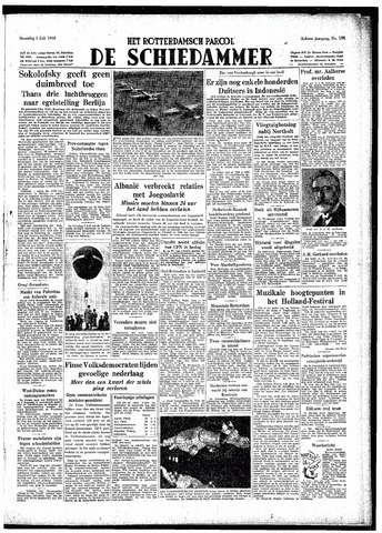 Rotterdamsch Parool / De Schiedammer 1948-07-05