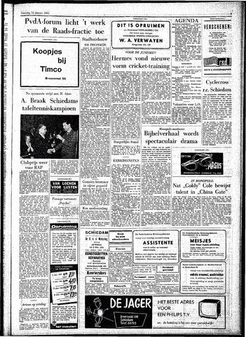 Rotterdamsch Parool / De Schiedammer 1961-01-14