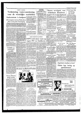 Rotterdamsch Parool / De Schiedammer 1955-01-15