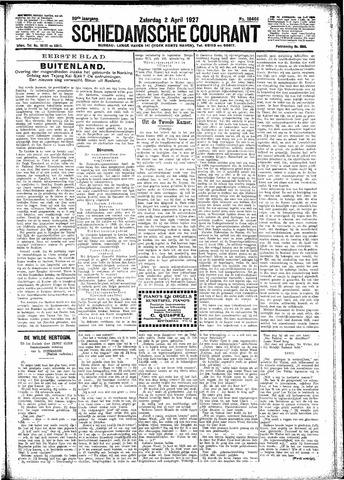 Schiedamsche Courant 1927-04-02