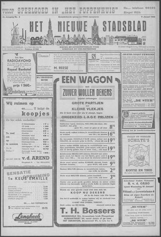 Het Nieuwe Stadsblad 1952-01-11