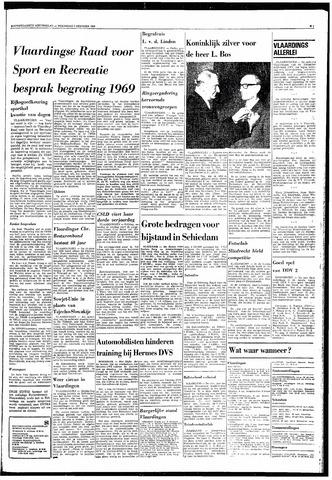 Rotterdamsch Nieuwsblad / Schiedamsche Courant / Rotterdams Dagblad / Waterweg / Algemeen Dagblad 1968-10-09