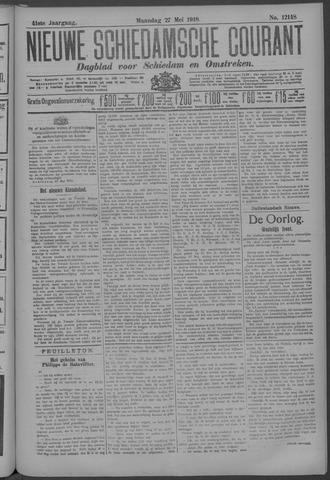 Nieuwe Schiedamsche Courant 1918-05-27