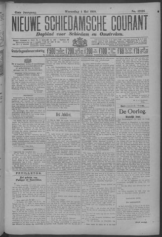 Nieuwe Schiedamsche Courant 1918-05-01