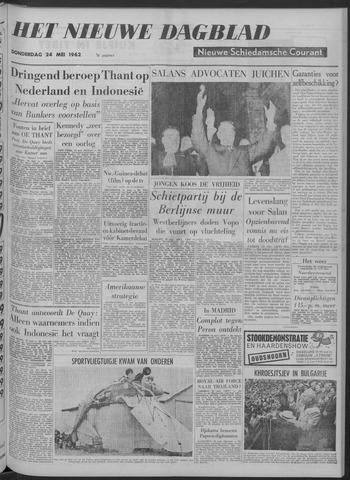 Nieuwe Schiedamsche Courant 1962-05-24