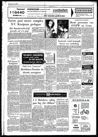 Rotterdamsch Parool / De Schiedammer 1962-04-03