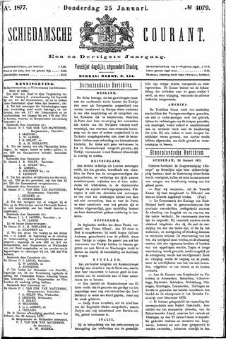 Schiedamsche Courant 1877-01-25
