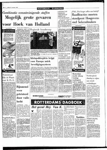 Rotterdamsch Parool / De Schiedammer 1970-11-27