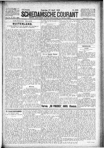 Schiedamsche Courant 1929-04-27