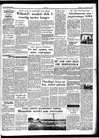 Trouw / De Rotterdammer 1962-08-07