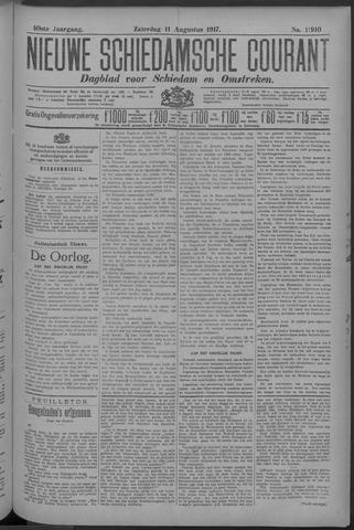Nieuwe Schiedamsche Courant 1917-08-11
