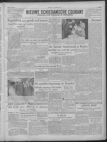 Nieuwe Schiedamsche Courant 1949-08-09
